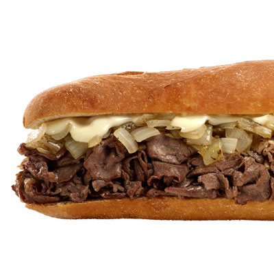 Tony Luke's Cheesesteak