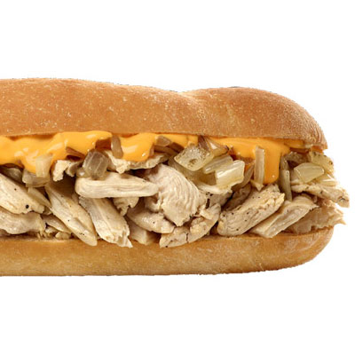 Tony Luke's Chicken Cheesesteak