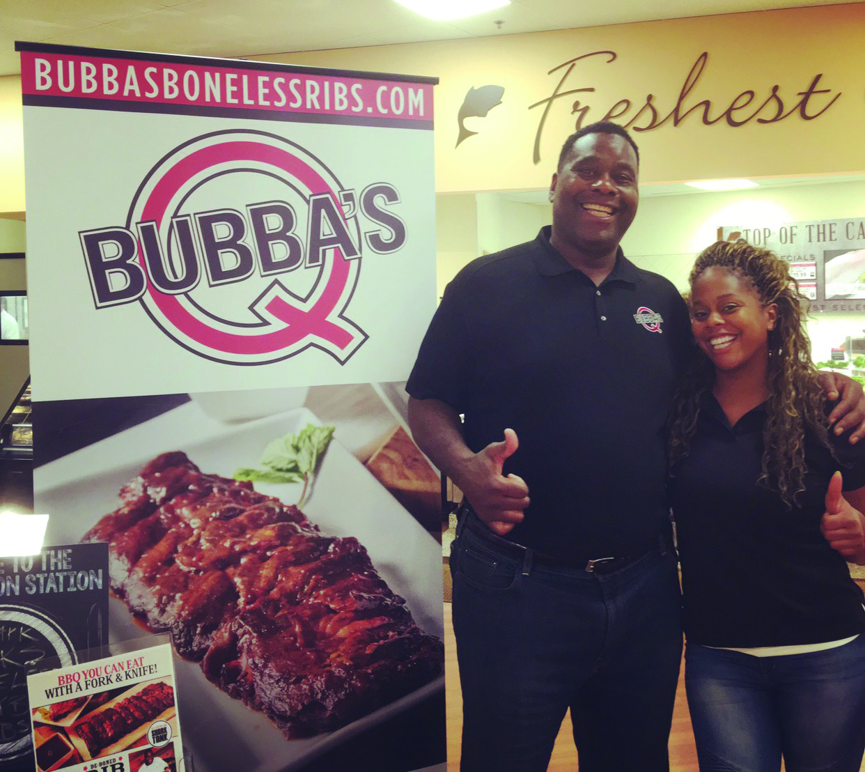 Bubba S Q Demonstration In Clearwater Fl Rastelli Foods