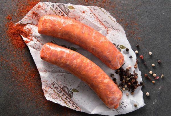 Oktoberfest Recipe Pretzel Wrapped Sausage