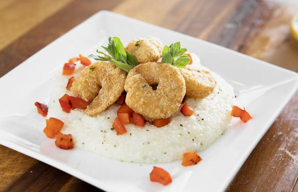 National Seafood Month Recipe Shrimp and Grits