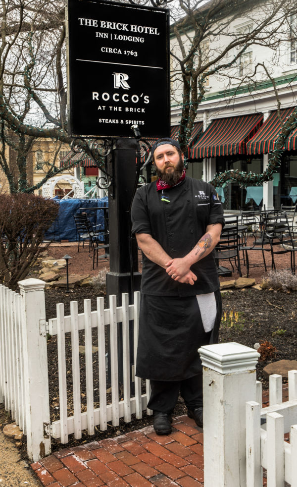 Rocco's at the Brick Executive Chef Cole Caprioni