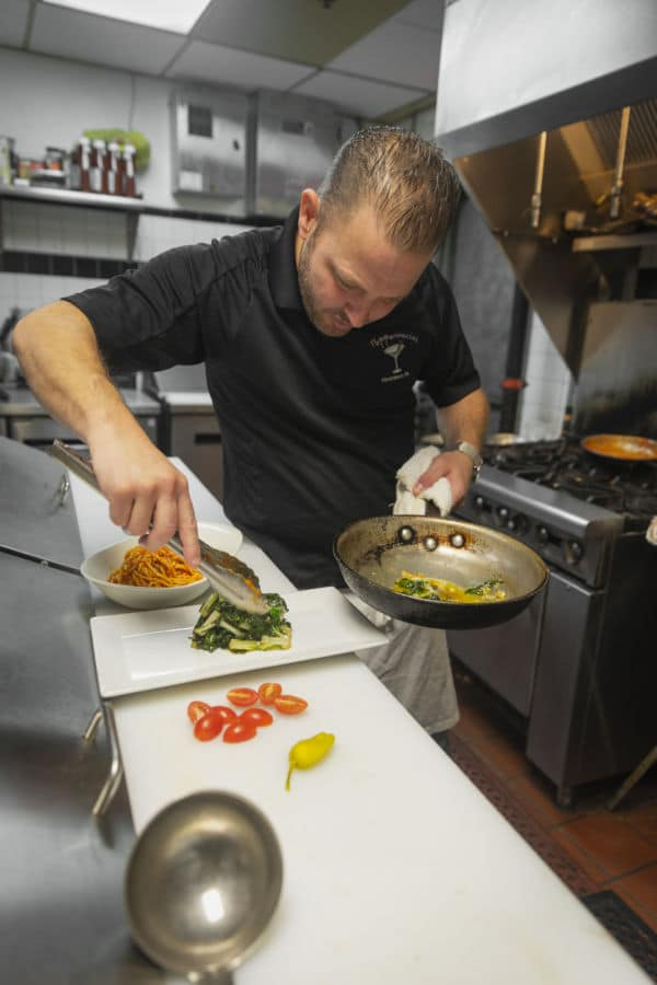 Chef/Owner Tommy DeFruscio Pepperoncini Haverford
